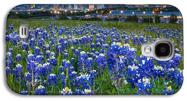 Bluebonnets In Dallas Galaxy S4 Case by Inge Johnsson