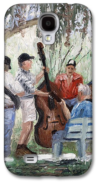 Bluegrass In The Park Galaxy S4 Case by Anthony Falbo