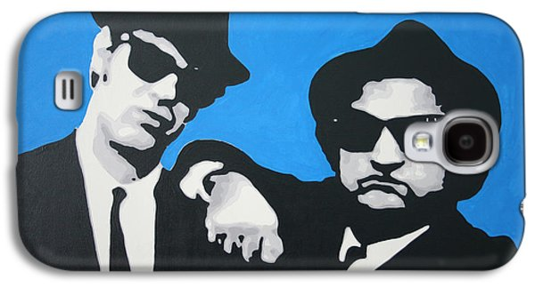 Blues Brothers 2013 Galaxy S4 Case by Luis Ludzska