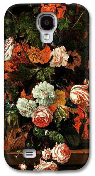 Blumenstillleben Galaxy S4 Case by Ernst Stuven