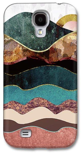 Landscapes Galaxy S4 Case - Blush Moon by Katherine Smit