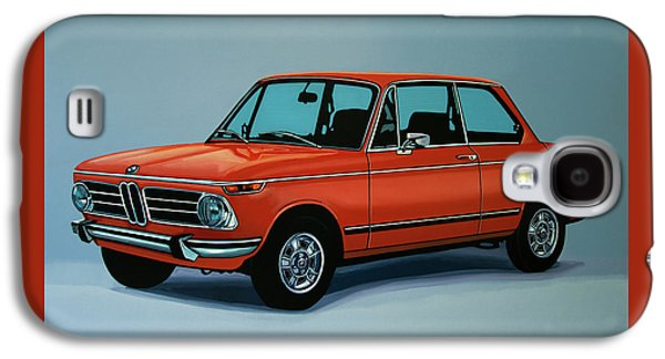 Bmw 2002 1968 Painting Galaxy S4 Case