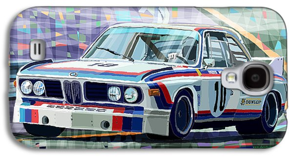 Bmw 3 0 Csl 1st Spa 24hrs 1973 Quester Hezemans Galaxy S4 Case by Yuriy  Shevchuk