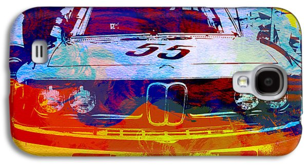 Automotive Digital Galaxy S4 Cases - BMW Racing Galaxy S4 Case by Naxart Studio