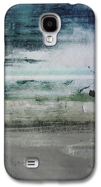 Boardwalk Blues 2- Art By Linda Woods Galaxy S4 Case by Linda Woods