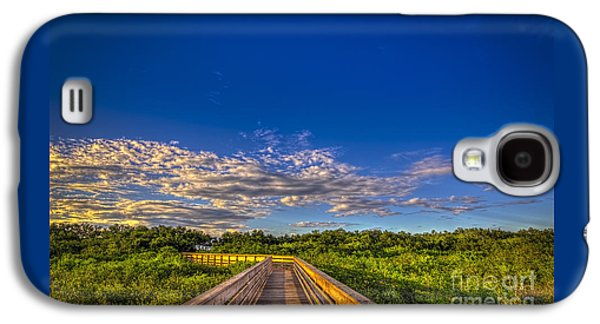 Boardwalk Sunset Galaxy S4 Case