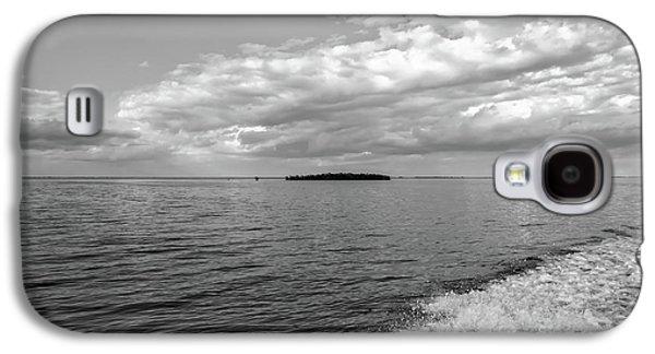 Boat Wake On Florida Bay Galaxy S4 Case