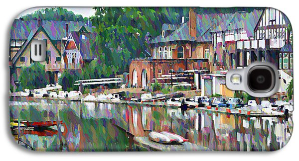 Boathouse Row In Philadelphia Galaxy S4 Case by Bill Cannon