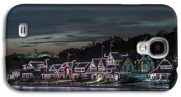 Boathouse Row Philly Pa Night Galaxy S4 Case