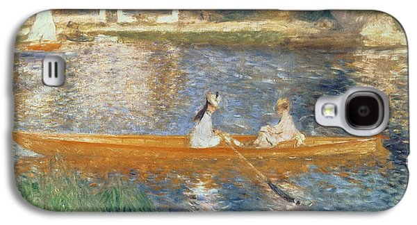 Boating On The Seine Galaxy S4 Case by Pierre Auguste Renoir