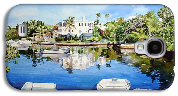 Boats At Fairyland Galaxy S4 Case by Matthew Phinn
