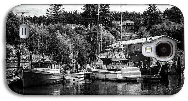 Boats At Lovric's Sea Craft, Washington Galaxy S4 Case by TL Mair