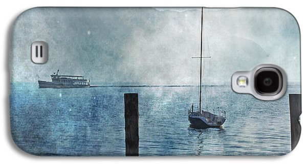 Boats In The Fog Galaxy S4 Case