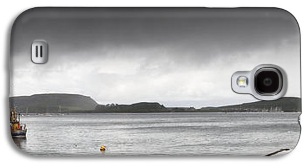 Design Pics - Galaxy S4 Cases - Boats Moored In The Harbor Oban Galaxy S4 Case by John Short