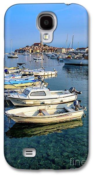 Boats Of The Adriatic, Rovinj, Istria, Croatia  Galaxy S4 Case