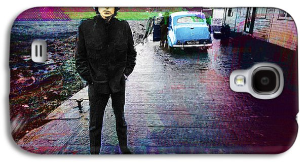 Bob Dylan No Direction Home 1 Galaxy S4 Case by Tony Rubino