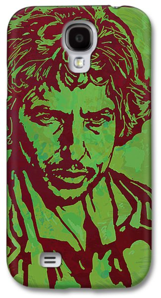 Bob Dylan Pop Art Poser Galaxy S4 Case by Kim Wang