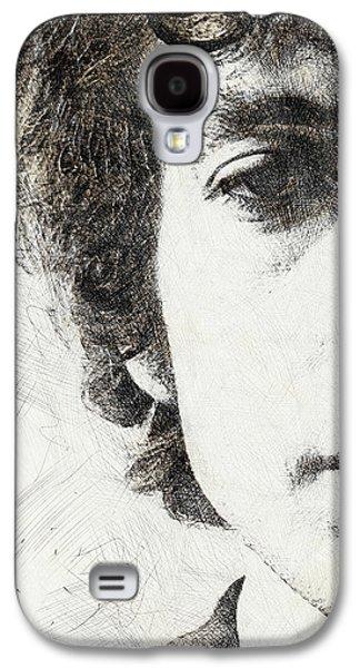 Bob Dylan Portrait 02 Galaxy S4 Case by Pablo Romero