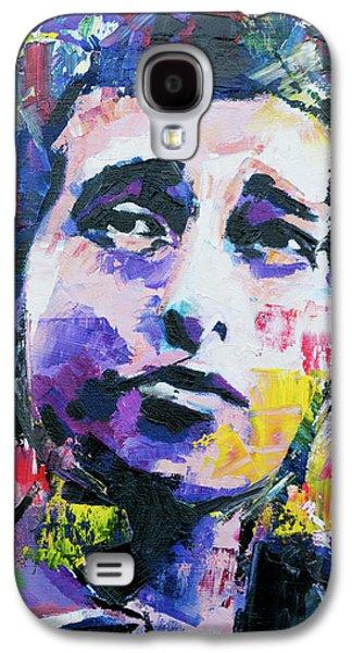 Bob Dylan Portrait Galaxy S4 Case by Richard Day
