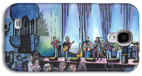 Bob Dylan Tribute Show Galaxy S4 Case by David Sockrider
