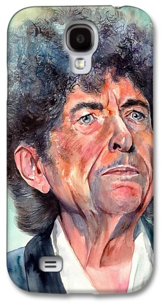Bob Dylan Watercolor Portrait  Galaxy S4 Case