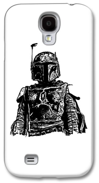 Boba Fett From The Star Wars Universe Galaxy S4 Case by Edward Fielding