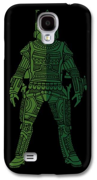 Boba Fett - Star Wars Art, Green 02 Galaxy S4 Case