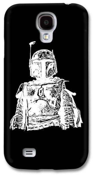 Boba Fett Tee Galaxy S4 Case by Edward Fielding