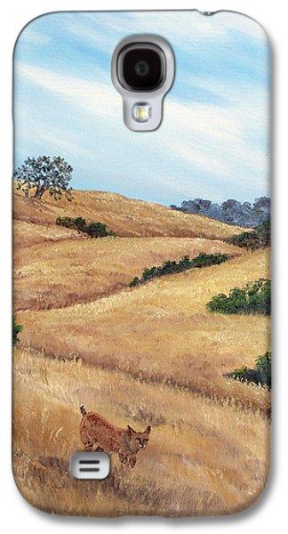 Bobcat At Rancho San Antonio Galaxy S4 Case