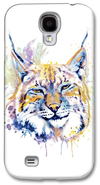 Bobcat Head Galaxy S4 Case
