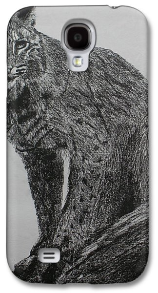 Bobcat Galaxy S4 Case by Phil Pedder-Smith