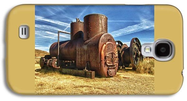 Old Boiler Bodie State Park Galaxy S4 Case