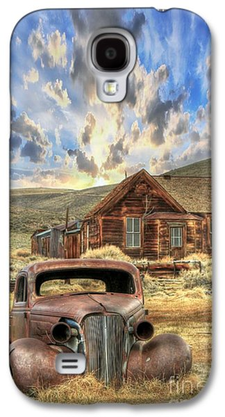 Bodie Ghost Town Galaxy S4 Case by Benanne Stiens