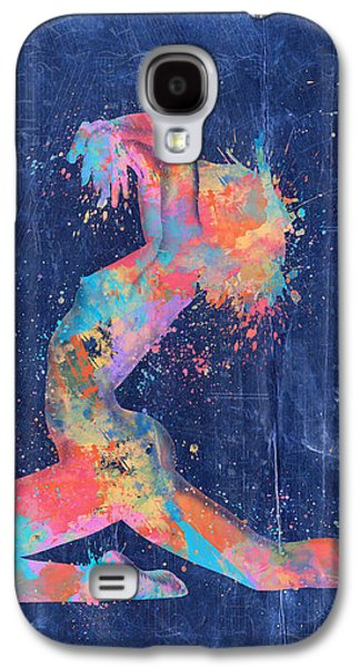 Abstract Movement Galaxy S4 Cases - Bodyscape in D Minor - Music of the Body Galaxy S4 Case by Nikki Marie Smith