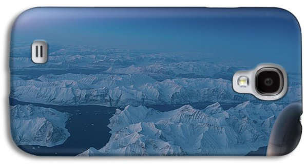 Boeing 777 Flying Over Greenland Fjords Galaxy S4 Case