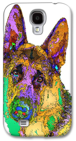 Bogart The Shepherd. Pet Series Galaxy S4 Case