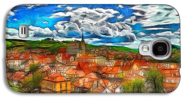 Bohemian Village 2 Galaxy S4 Case