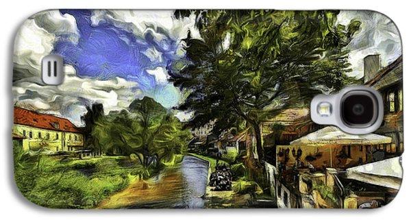 Bohemian Village Galaxy S4 Case