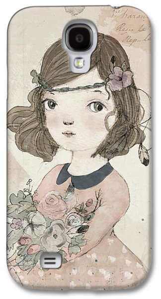 Boho Little Girl Galaxy S4 Case