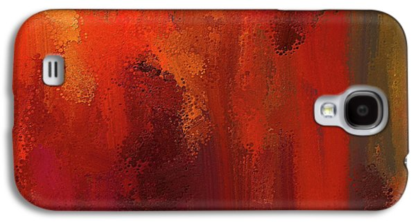 Bold Colors Abstract Art Galaxy S4 Case