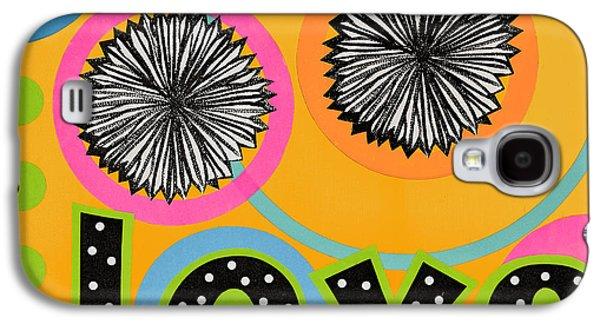 Bold Love Galaxy S4 Case by Gloria Rothrock