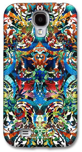 Bold Pattern Art - Color Fusion Design 8 By Sharon Cummings Galaxy S4 Case