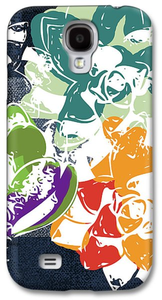 Bold Succulents 1- Art By Linda Woods Galaxy S4 Case