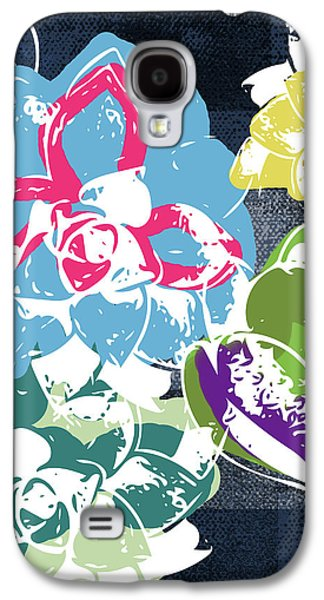 Bold Succulents 2- Art By Linda Woods Galaxy S4 Case
