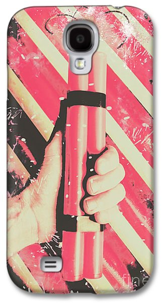 Bomber Man Hand Galaxy S4 Case by Jorgo Photography - Wall Art Gallery