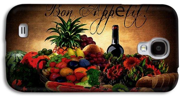 Bon Appetit Galaxy S4 Case by Lourry Legarde