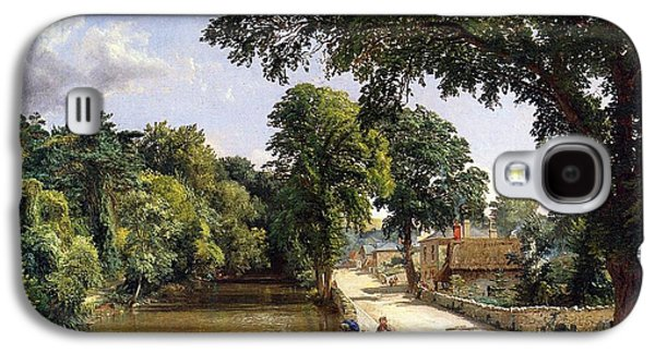 Geese Galaxy S4 Case - Bonchurch Isle Of Wight by Jasper Francis Cropsey