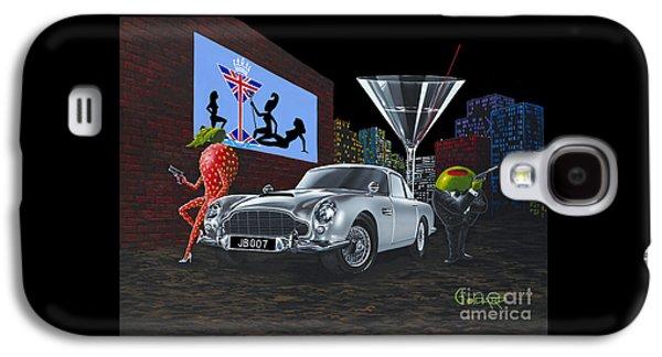 Martini Galaxy S4 Case - Bond by Michael Godard