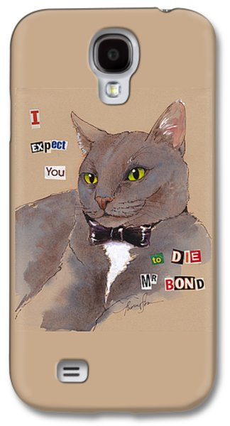 Bond Villain Kitty Galaxy S4 Case by Tracie Thompson