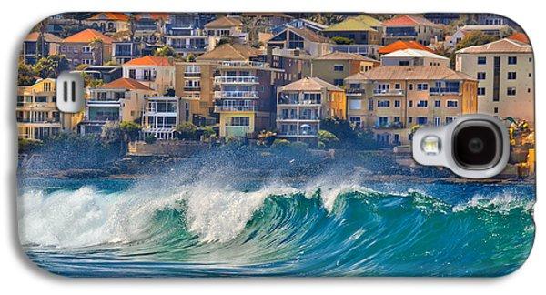 Beach Landscape Galaxy S4 Case - Bondi Waves by Az Jackson